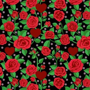 Red Rose/ Valentine Scarlet