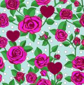 Rose Sky Polka