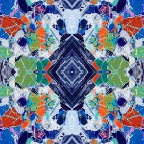 Teschenit Minerals Blue