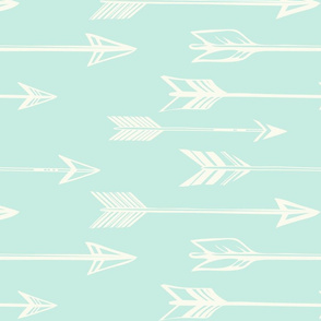 arrows on mint