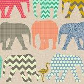 Rrrrrrrrlinen_baby_elephants_and_flamigos_st_sf_shop_thumb