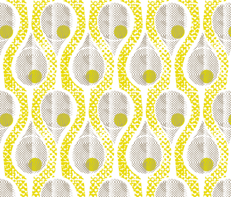 tennis anyone? fabric by ottomanbrim on Spoonflower - custom fabric