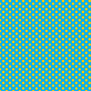 Blue and Yellow dots small