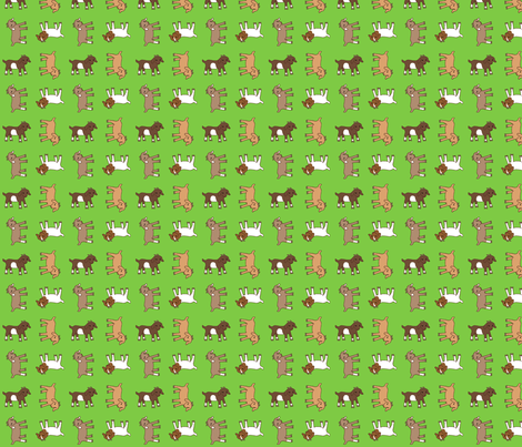 Baby Goats fabric by katie_allen on Spoonflower - custom fabric