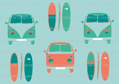 CAMPER VAN SURF