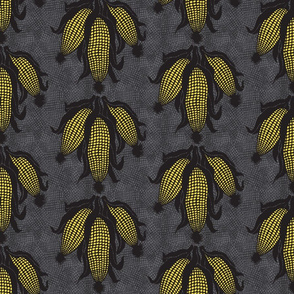 corn yellow#2 on grey