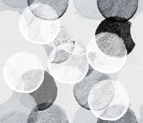 Shades of White fabric by anniedeb on Spoonflower - custom fabric