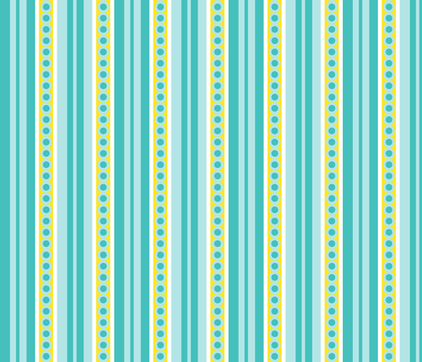 Circus tent stripes fabric by moirarae on Spoonflower - custom fabric