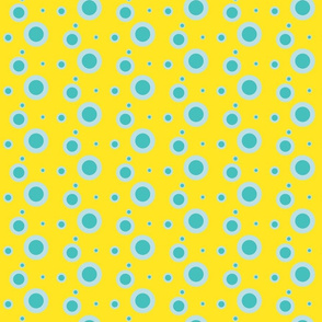 Greasepaint spots - Yellow