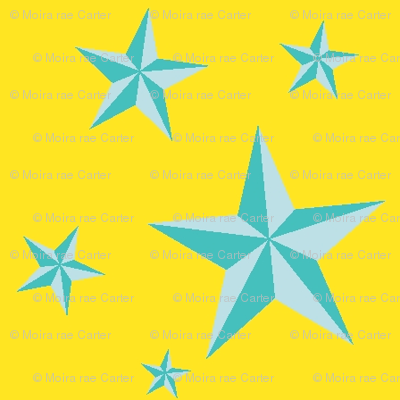 Stars in your eyes - Turquoise