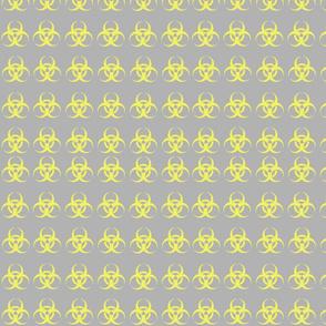 Biohazard gray yellow