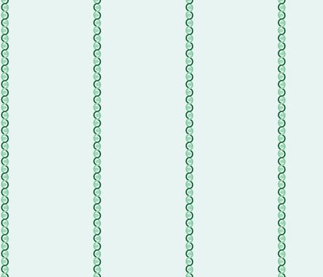 DNA Stripe fabric by studiofibonacci on Spoonflower - custom fabric