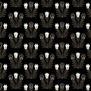 Ancient Carpet Flowers VIII.