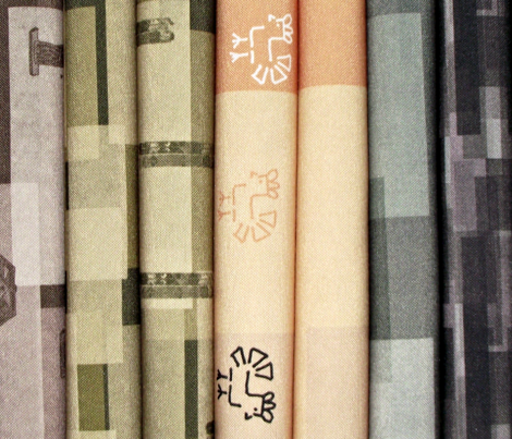 Tabs Stamped with Lamps
