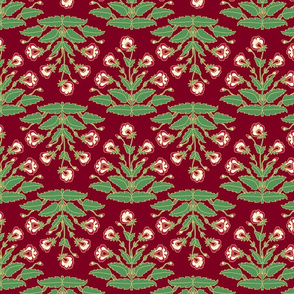 Ancient Carpet Flowers IX.