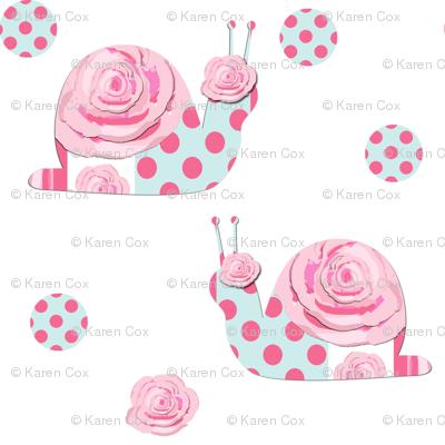 Shabby Chic Snails