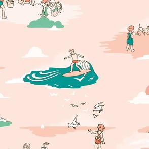 Vintage Surf Kids