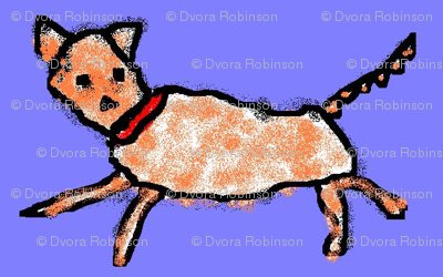 cave painting dog (re-upload)