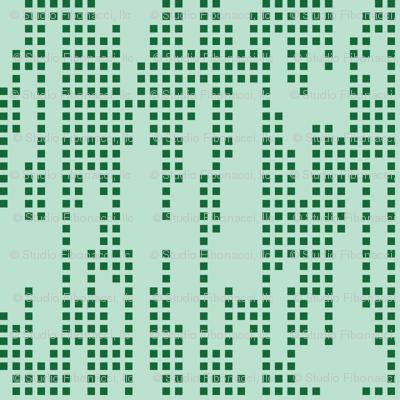 Swirly  Butterfly Dots (Green)