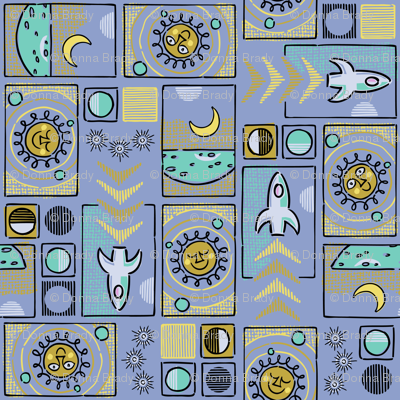 Cosmic Mosaic LARGE SCALE