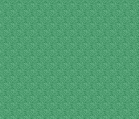 Leafy Green Repeat (medium) fabric by studiofibonacci on Spoonflower - custom fabric