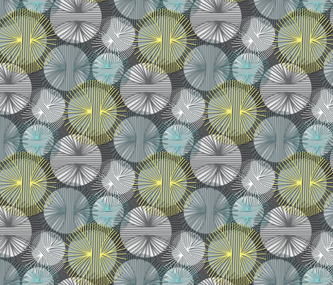 Circle Weave fabric by madex on Spoonflower - custom fabric