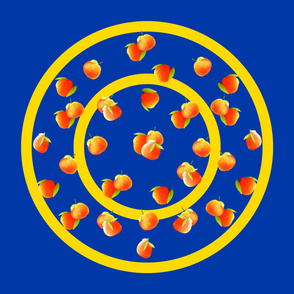 Oranges_on_Blue_Circular_border