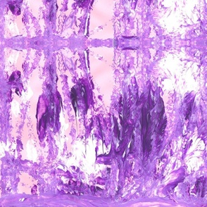 Purple Abstract Splash