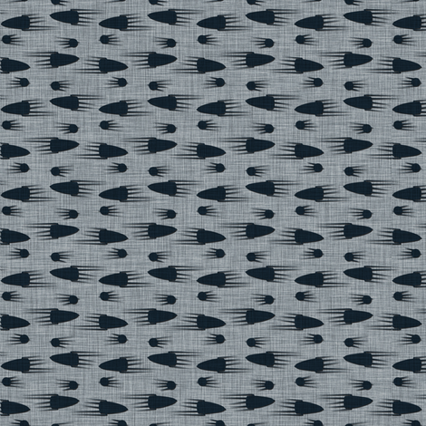black_rockets fabric by susiprint on Spoonflower - custom fabric