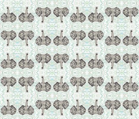 elephant fabric by arrpdesign on Spoonflower - custom fabric