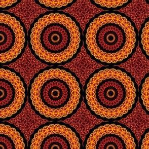 Orange Retro Pattern