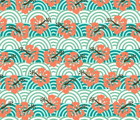 surf's up fabric by weejock on Spoonflower - custom fabric
