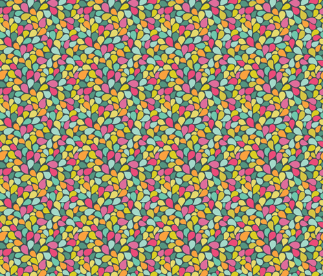 color drops fabric by kostolom3000 on Spoonflower - custom fabric