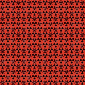 Hazard! - 1in (black\red)