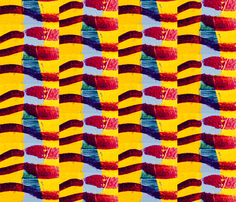 goldie fabric by liberation on Spoonflower - custom fabric