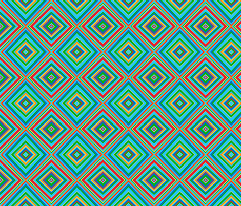 Diamonds fabric by goodknightfabrics on Spoonflower - custom fabric