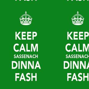 Dinna Fash Green