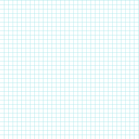 starlight geometric grid pale blue on white fabric