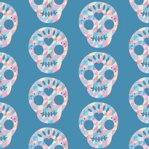 Geometric Sugar Skull