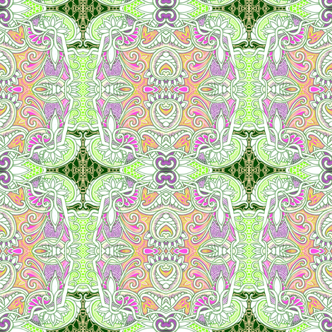 In The Ornate Forest fabric by edsel2084 on Spoonflower - custom fabric