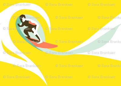 Crashing Surf - Hot