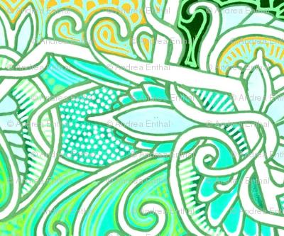 Delicately Green