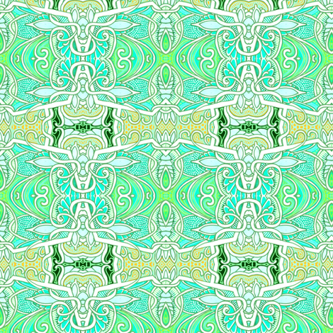 Delicately Green fabric by edsel2084 on Spoonflower - custom fabric