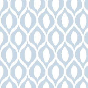 uzebeki ikat blue and white