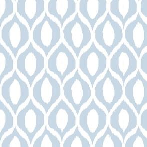 uzebeki ikat blue and white