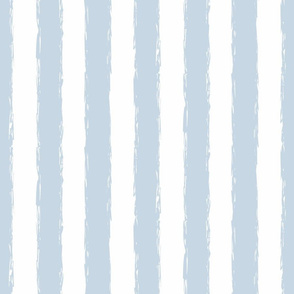 Beach House Blue distress stripe