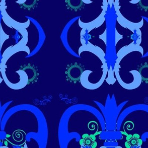 Blue ornamental