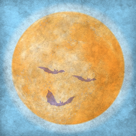 good night moon fabric by keweenawchris on Spoonflower - custom fabric