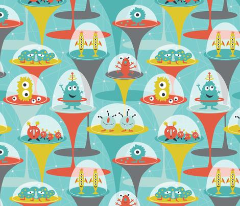 Alien Incubators fabric by jillbyers on Spoonflower - custom fabric