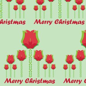 Merry Christmas Flower